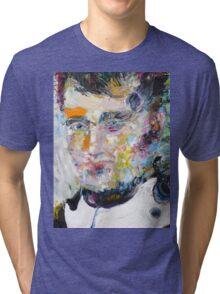 NAPOLEON - oil portrait Tri-blend T-Shirt