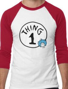 Thing 1 Men's Baseball ¾ T-Shirt