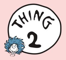Thing 2 One Piece - Short Sleeve