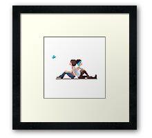 LiS Pixelart Framed Print