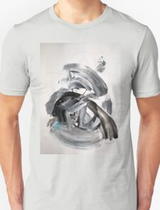 Artworks Collections Bulk edit product images IF YOU AGREE TO CARRY THE CALF...- ORIGINAL WALL MODERN ABSTRACT ART PAINTING Unisex T-Shirt