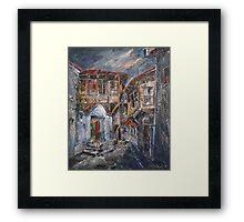 The Silent Street IV Framed Print