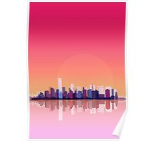 New-york city landscape Poster