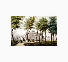 Castle garden, New York - 1848 - Currier & Ives Unisex T-Shirt