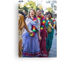 Join hands and dance Canvas Print