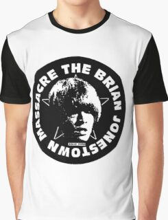 The Brian Jonestown Massacre Logo Graphic T-Shirt