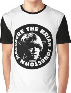 The Brian Jonestown Massacre Logo Graphic T-Shirt