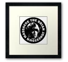 The Brian Jonestown Massacre Logo Framed Print