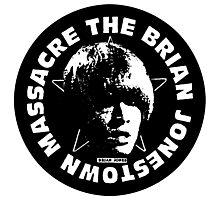 The Brian Jonestown Massacre Logo Photographic Print
