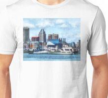 Baltimore Skyline and Harbor Unisex T-Shirt