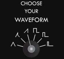 Choose Your Waveform - White One Piece - Short Sleeve