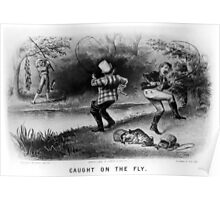 Caught on the fly - 1879 - Currier & Ives Poster