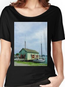 Boat By Oyster Shack Women's Relaxed Fit T-Shirt