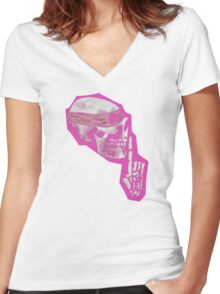 Fetch Walker  Women's Fitted V-Neck T-Shirt
