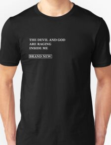 Brand New - The devil and god  T-Shirt