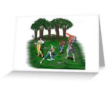 Final Fantasy IX Illustration Greeting Card