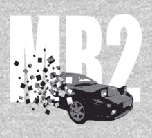 MR2 CLASSIC SPORTS CAR T-SHIRT One Piece - Long Sleeve