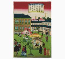 Hiroshige Utagawa - Second Ntl Industrial Exhibition at Ueno Park 3 - 1881 - Woodcut One Piece - Short Sleeve
