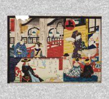 Hiroshige Utagawa - Sogoroku Game - 1860 - Woodcut Baby Tee