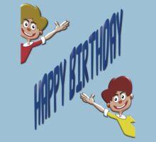 Happy Birthday T-shirt for Boys Kids Tee