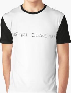 I Love You I Love You (Kurt Cobain) Graphic T-Shirt