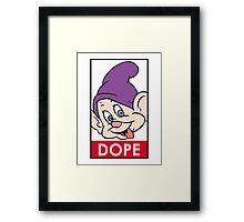 Dopey Framed Print