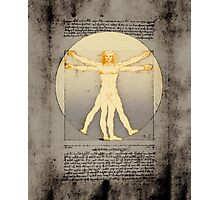Vitruvian man 14 (enlightenment) Photographic Print