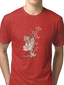 Flower Garden 004 Tri-blend T-Shirt