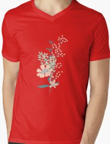 Flower Garden 004 Mens V-Neck T-Shirt