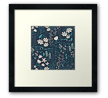 Flower Garden 004 Framed Print