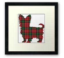 Tartan Terrier Framed Print
