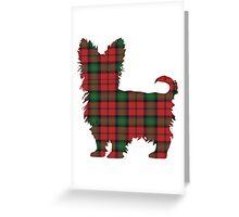 Tartan Terrier Greeting Card