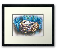 hands 2 Framed Print
