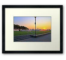 View From Pier A Hoboken NJ Framed Print