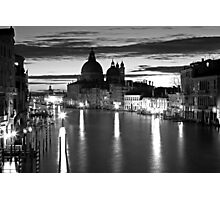 Venice Sunrise Photographic Print