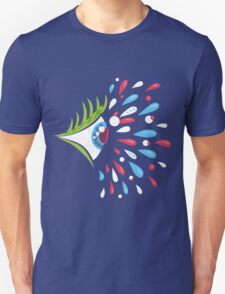 Psychedelic eye - side T-Shirt