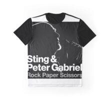 Sting & Peter Gabriel TOUR 2016 2a Graphic T-Shirt