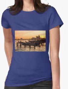 Venice Gondolas Womens Fitted T-Shirt