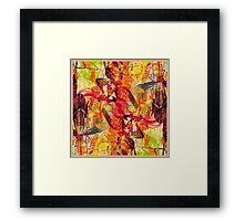 Orchid City Framed Print