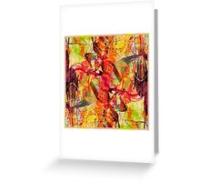 Orchid City Greeting Card