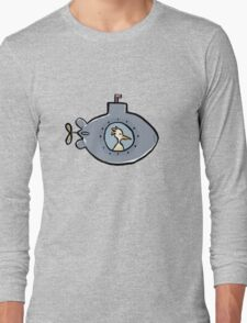 submarine Long Sleeve T-Shirt