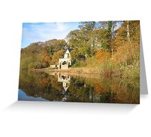 Crom Boat House, Fermanagh, Ireland Greeting Card