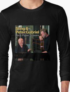 Sting & Peter Gabriel TOUR 2016 3a Long Sleeve T-Shirt