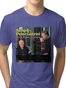 Sting & Peter Gabriel TOUR 2016 3a Tri-blend T-Shirt
