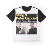 Sting & Peter Gabriel TOUR 2016 4 Graphic T-Shirt