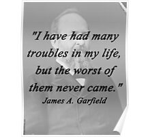 Garfield - Many Troubles Poster