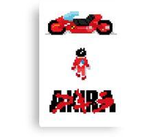 8-Bit Neo-Tokyo! Canvas Print