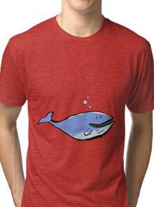 great blue Tri-blend T-Shirt