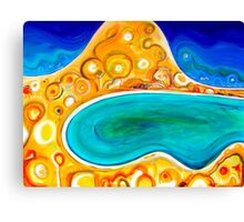 Red Hill Summer Canvas Print