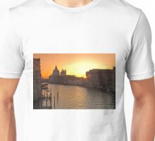 The Sun Rises in Venice Unisex T-Shirt